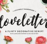 Typefaces Fuentes