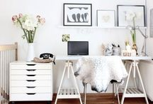 inspiration: office / by Brooke Waite @ Design Stash