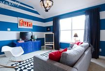 inspiration: basement / by Brooke Waite @ Design Stash