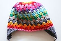 C R O C H E T♥ {to wear} / hats, scarfs, mittens, headbands, slippers, sweaters.  if it's crochet and you can wear it, it'll be here