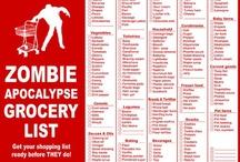 Zombie Ready Workout Plan / by Sarah Dow