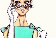 ilustraciones de moda / by Pam Bando