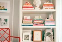 style: bookshelf / by Brooke Waite @ Design Stash