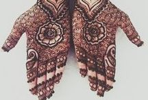 Mehndi / Brilliant designs & patterns made with henna / by Marija Kurmurmiau