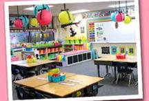 TEACHING♥ {organization} / classroom spaces, lesson planning, bulletin boards, labels and other classroom organizing tips