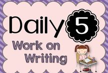 TEACHING♥ {work on writing} / Daily Five: work on writing activities, organization, set-up, management
