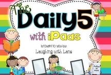 TEACHING♥ {listen to reading} / Daily Five: listening to reading activities, organization, set-up, management