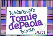 TEACHING♥ {author studies} / Tomie dePaola, Robert Munsch, Jan Brett, Gail Gibbons, Mo Willems, Shel Silverstein, Ezra Jack Keats,