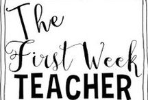 TEACHING♥ {back to school} / lesson ideas for those first critical weeks