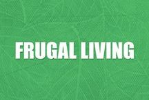 Frugal Living Ideas / Everything you need to know about living frugally, minimalist lifestyle, frugal living for beginners, frugal living tips—all to help you simplify, save money, and live debt free.