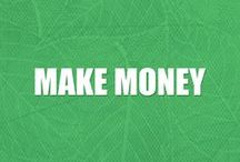 Make Money / How to make money fast, make money online, make money from home, make money on the side. A compilation making money ideas for blogging, DIY, crafts, apps, and more.