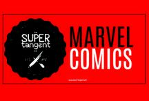 Marvel / The classic comic book superheroes of the Marvel Universe from the comic books I grew up with.