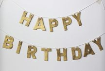 H a p p y  B i r t h d a y / Moved here from my third account...and added some more pins from my first account.