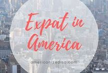 Expat | America / If you plan on moving to America and living an Expat Life, you'll find some useful information here.  Move to America. Life in America. Move to the USA. Expat in America. Life in the USA. Study in America. Study Abroad. Move abroad.