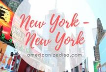 New York City | TRAVEL / Visit the city that never sleeps! Get some travel inspiration here. New York, New York City, Concrete Jungle, Manhattan, Brooklyn, Harlem, Queens, Bronx, Central Park, Empire State, Times Square, One World Trade Center, City Guide, Food Guide.