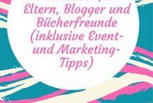 Nützliches für Blogger, Eltern, Vielleser und Marketing-Freunde / Blogger-Events, (bedürfnisorientierte) Konferenzen, Lesungen, Messen und andere spannende Events, aber auch Verzeichnisse, in denen man sich registrieren lassen kann, um besser gefunden zu werden. Ebenso Blogparaden und Marketingtipps für Kinderbuchautoren und andere Kreative und Möglichkeiten zum Networking