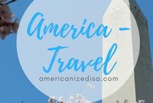 America | TRAVEL / Discover the United States! Travel ideas and inspiration. Travel USA, Road Trip, East Coast, West Coast, Travel Guide, America, USA, United States.