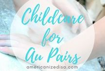 Au Pair | Childcare / Tips and tricks for taking care of your host children! Au Pair in America, Life in USA, Gap Year, Childcare, Activities for kids, Toddlers, Potty Training, Games, Baby, Teenager, Crafts, Paint, Psychology, Feelings, Discipline, Fun.