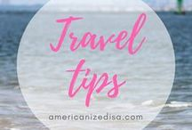 TRAVEL Tips / Are you planning your next trip? Find travel tips and inspiration here - Discover the world! Travel Preparation, Packing Tips, Packing List, Cheap flight, Accommodation, Hotel, Restaurants, Food, Road Trips, Stress Free Vacation, Save Money while Traveling, Backpacking, Trip Organization.
