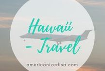 Hawaii | TRAVEL / Hawaii is my number one dream destination! Find tips and information for your next trip to Hawaii here! Oahu, Maui, Kauai, Lanai, Honolulu, Paradise, Sightseeing, Sights, Accommodation, Hotel, City Guide, Travel Guide.