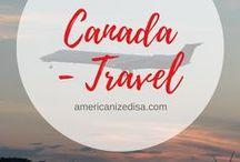 Canada | TRAVEL / Discover Canada! Travel ideas and inspiration. Travel Canada, Road Trip, Toronto, Vancouver, Montreal, Ottawa, Calgary, Edmonton, Travel Guide, City Guide, North America