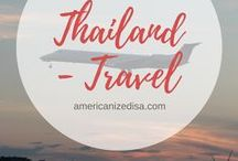 Thailand | TRAVEL / Discover Thailand with me! See beautiful temples, amazing beaches and cities full of culture! Get tips and inspiration for your next trip here. Bangkok, Phuket, Pattaya, Phi Phi, Island, beach, wat, night market, backpacking.