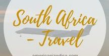 South Africa | TRAVEL / Are you planning a trip to South Africa? Find tips and inspiration here! Cape Town, Johannesburg, Pretoria, Kruger National Park, Table Mountain, Big Five, Backpacking, Road trip, Lodging, Accommodation, Safari, Travel Guide.