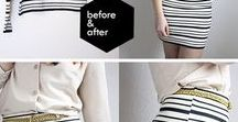 Fashion Re-creation / Check out how creativity amazes you! Simple DIYs and fashion tips.