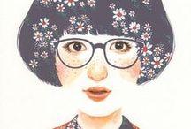 [ illustration ] / Illustration & art / by HappyMakersBlog