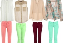 outfits & accessories / by Sarah Alvarez