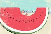 [ Happy Moods ]  Summer / Happy Moodboard about Summer Dreams