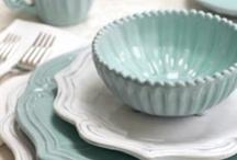 Dishes!  / by Kari V. {Sunshine In My Pocket}