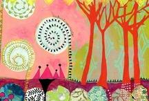 art projects- paper & collage / by Sarah Alvarez