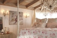 Shabby Chic Bedroom & Home / Master Bedroom Decorating Ideas Shabby Chic / by Adara Graham