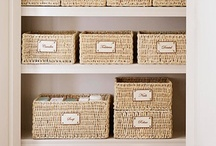 Organize - Closet, Cupboards, Kitchen, Garage / by Adara Graham