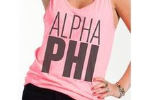 Alpha Phi  / by Nicole Bartley