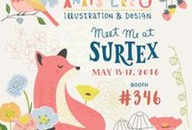 Surtex / Surtex, Printsource, National Stationery Show - booth design, flyers, press kits and everything about the shows.