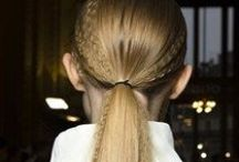 Fashion Week Hair / All the best beauty and hair at S/S'15 Fashion Shows