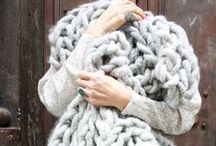 Knitting is sitting for creative people / Inspiration and patterns
