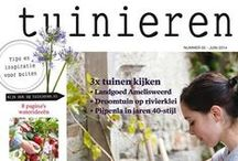 [ Portfolio ] Tuinieren / artdirection Dutch garden magazine @tuinieren by Monique van der Vlist aka @vlinspiratie @HappyMakersBlog