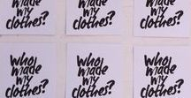 Fashion Revolution Day / Visual report of the #FashRev at our studio. April 24th, 2015.