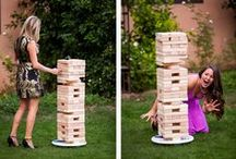 Wedding Games / Keep your guests entertained with these fun table and garden games.