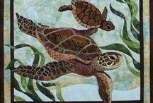 Quilting - Turtles
