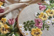 Bordado a mano / Hand embroidery