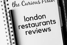 London Restaurant | Reviews / A collection of London restaurants to tantalise your tastebuds.