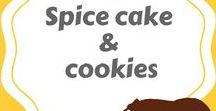 Spice cake& cookies
