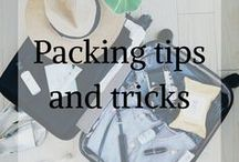 Packing Tips and Tricks / Travel Packing tips and tricks, Travelers advice for packing