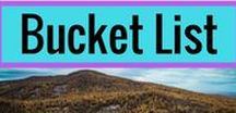 ^^ Bucket List / Your travel inspiration board.  Get lost in your day dreams of completing your Bucket List travels.