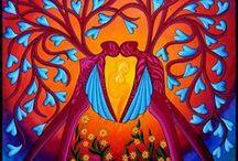 Feminine Power Art / Visionary, Spirit driven, love inspired art of Brona Wingell