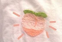* OC.   /   peachy ! / &.      throat stripped into two , yet peach trees bloom within the heavenly choir within your heart ;      diah .